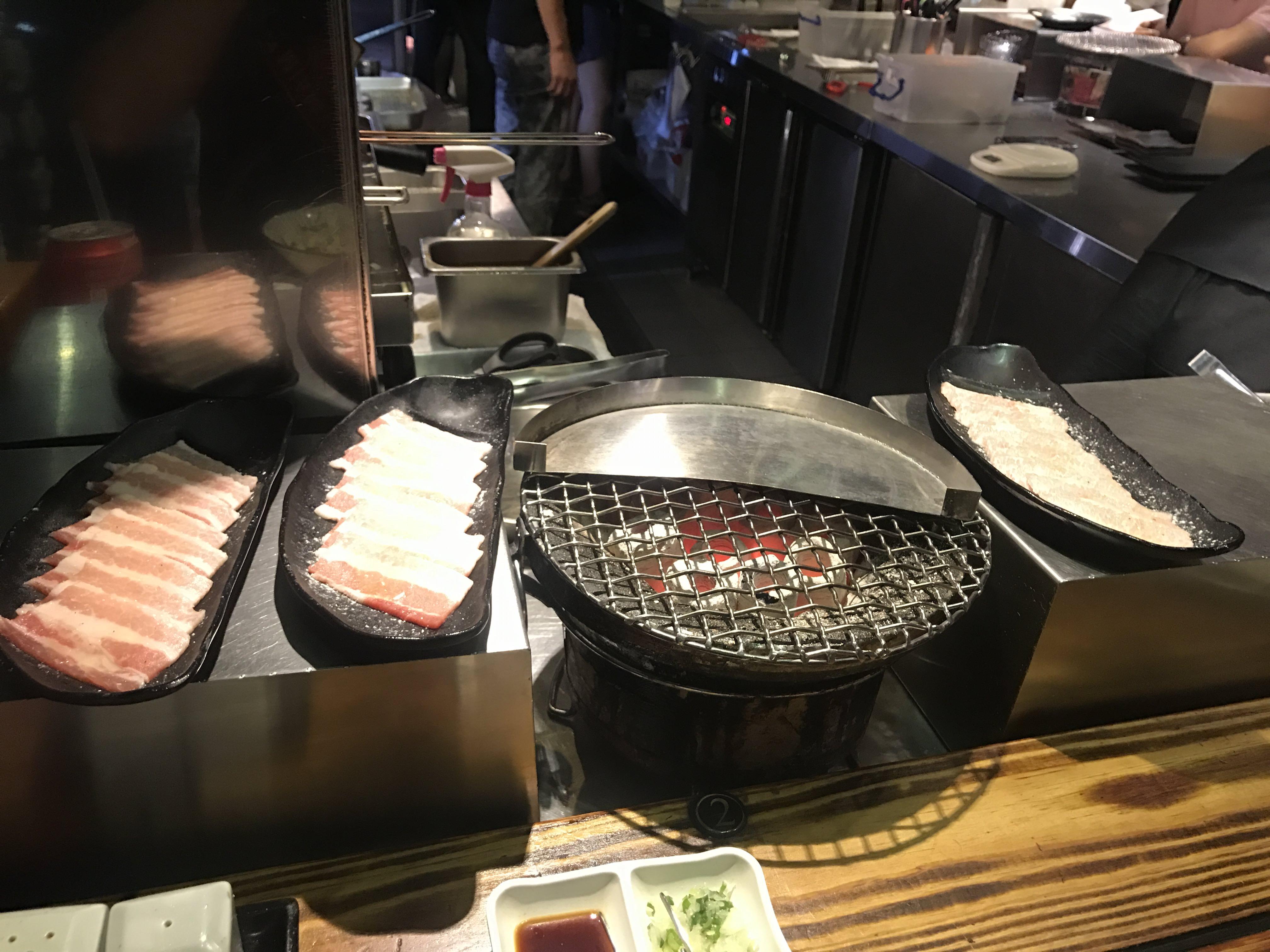 『台北新莊』高品質燒肉與日式串燒@米炭火燒肉小酒館