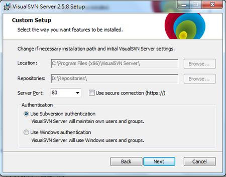 Windows VisualSVN Server 下載安裝與操作教學
