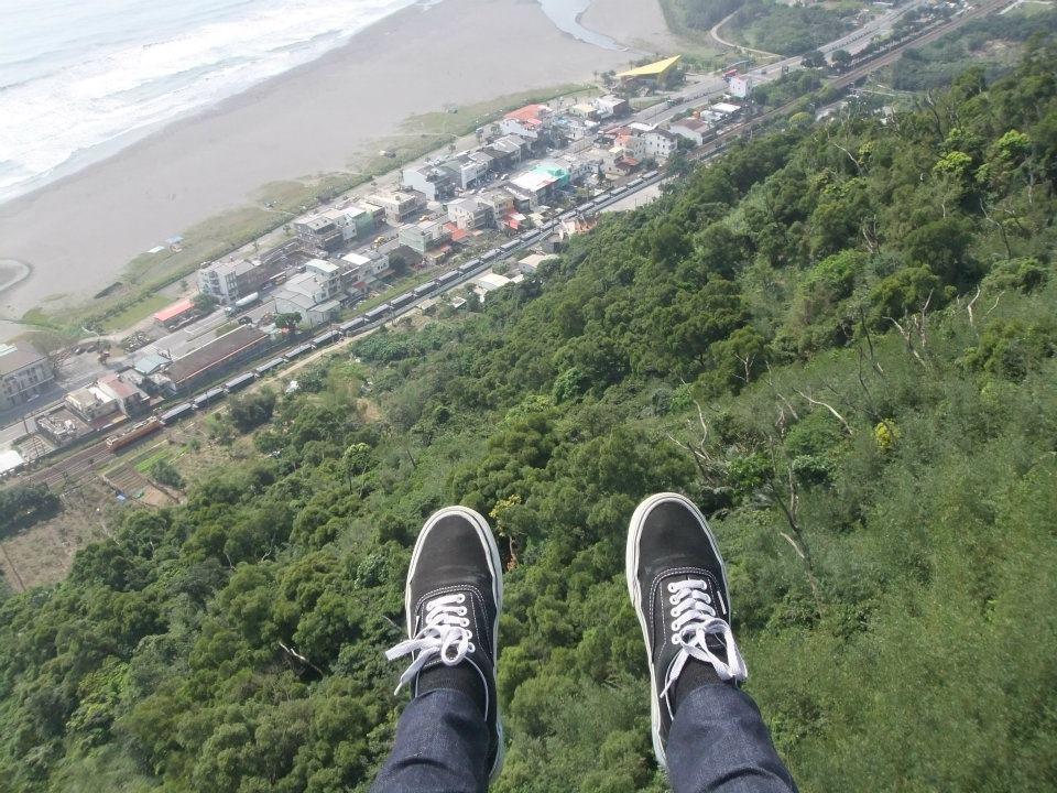 宜蘭飛行傘 | 外澳飛行傘基地帶您從高空俯瞰烏石港的無敵海景