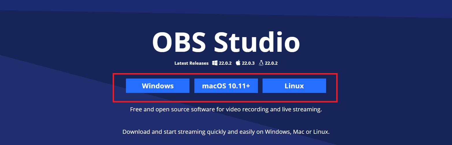 直播軟體obs studio,讓您快速成為知名網紅直播主
