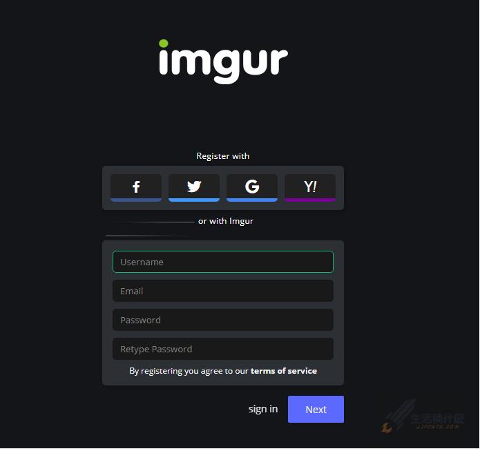 Imgur擁有無限容量的免費雲端圖片空間
