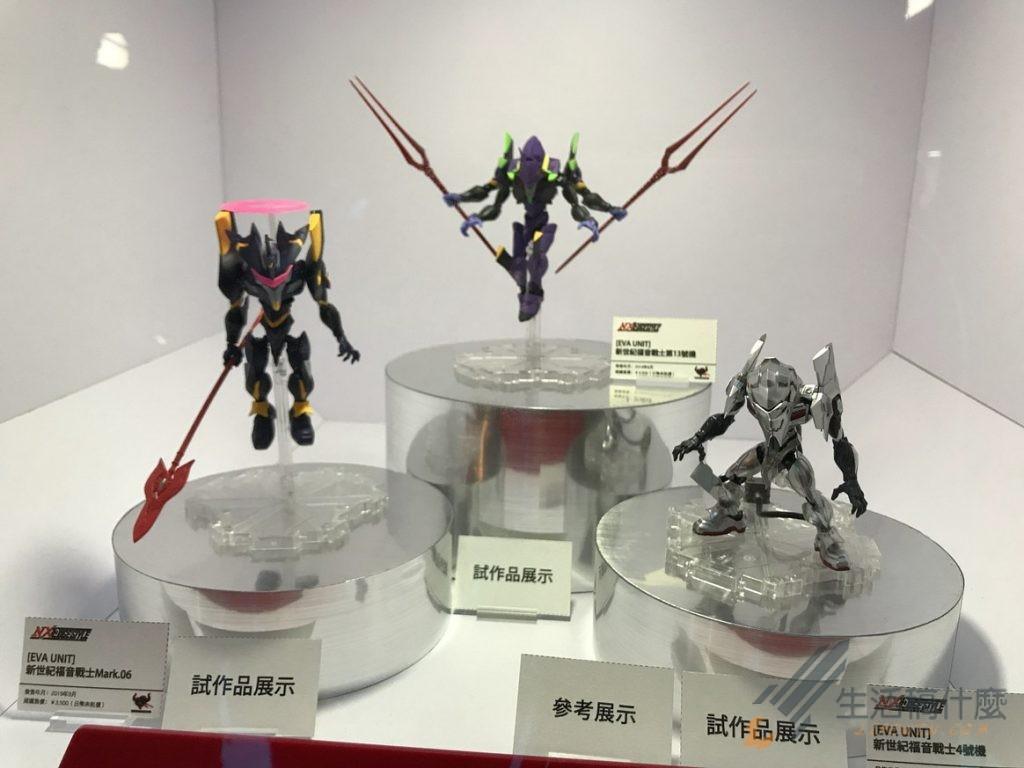 萬代TAMASHII Feature's特展,完整公開多款未發售模型
