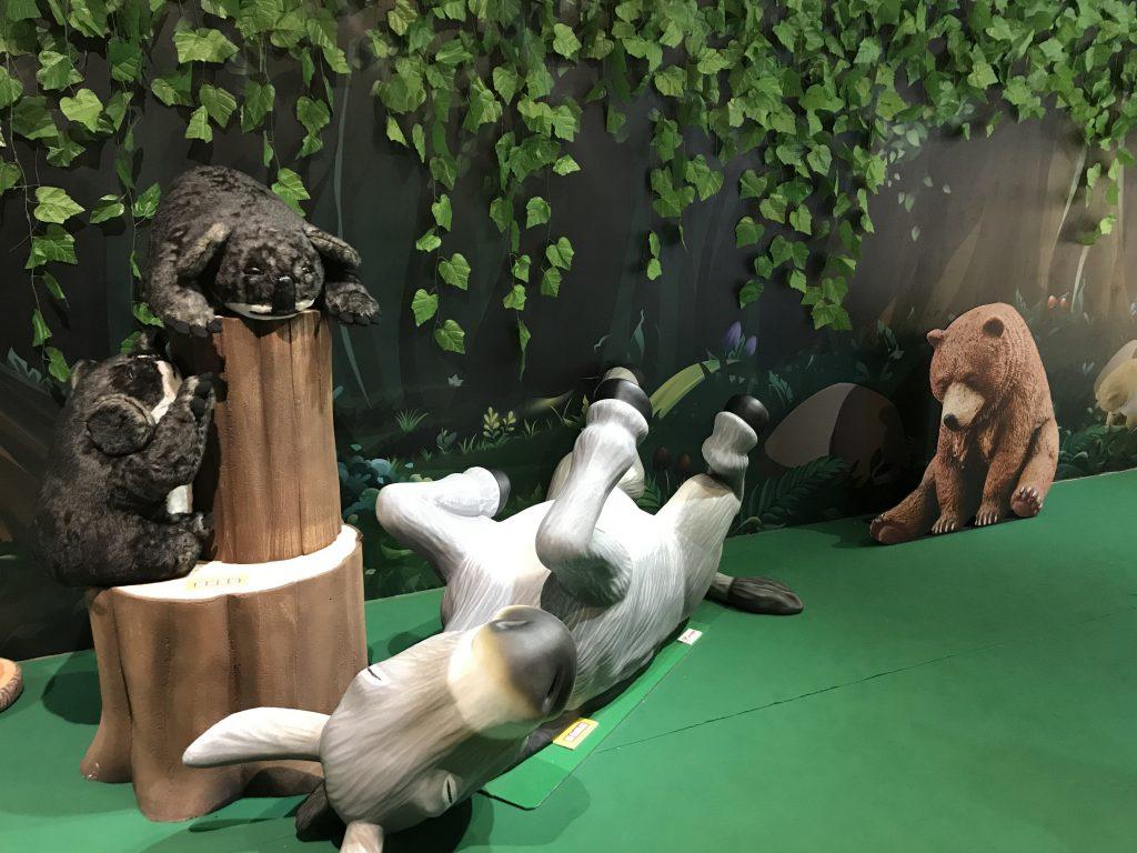 高雄夢時代》夢遊休眠動物園特展,扭蛋迷千萬別錯過