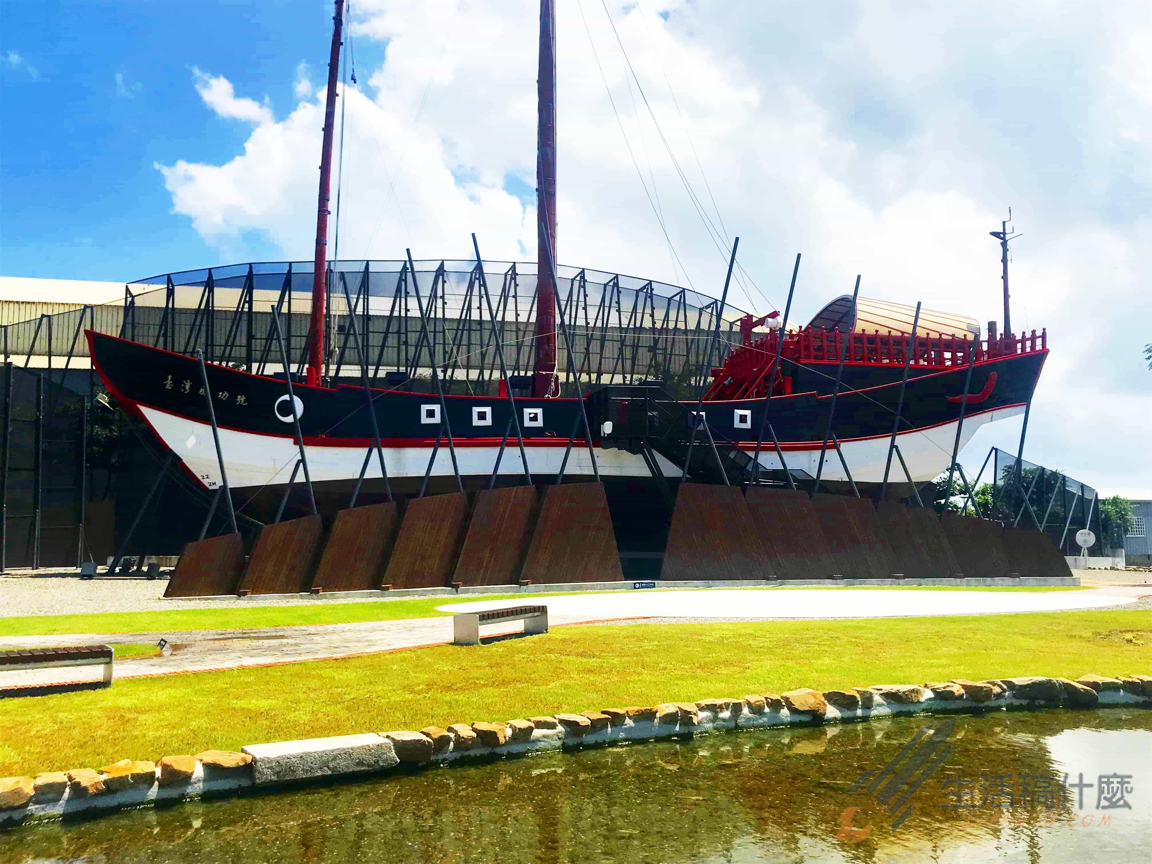 台南安平新景點   1661臺灣船園區大航海時代古船成功號