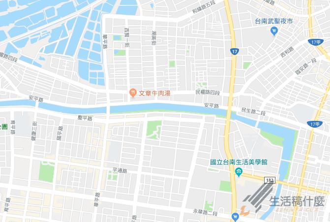 台南安平文章牛肉湯地址