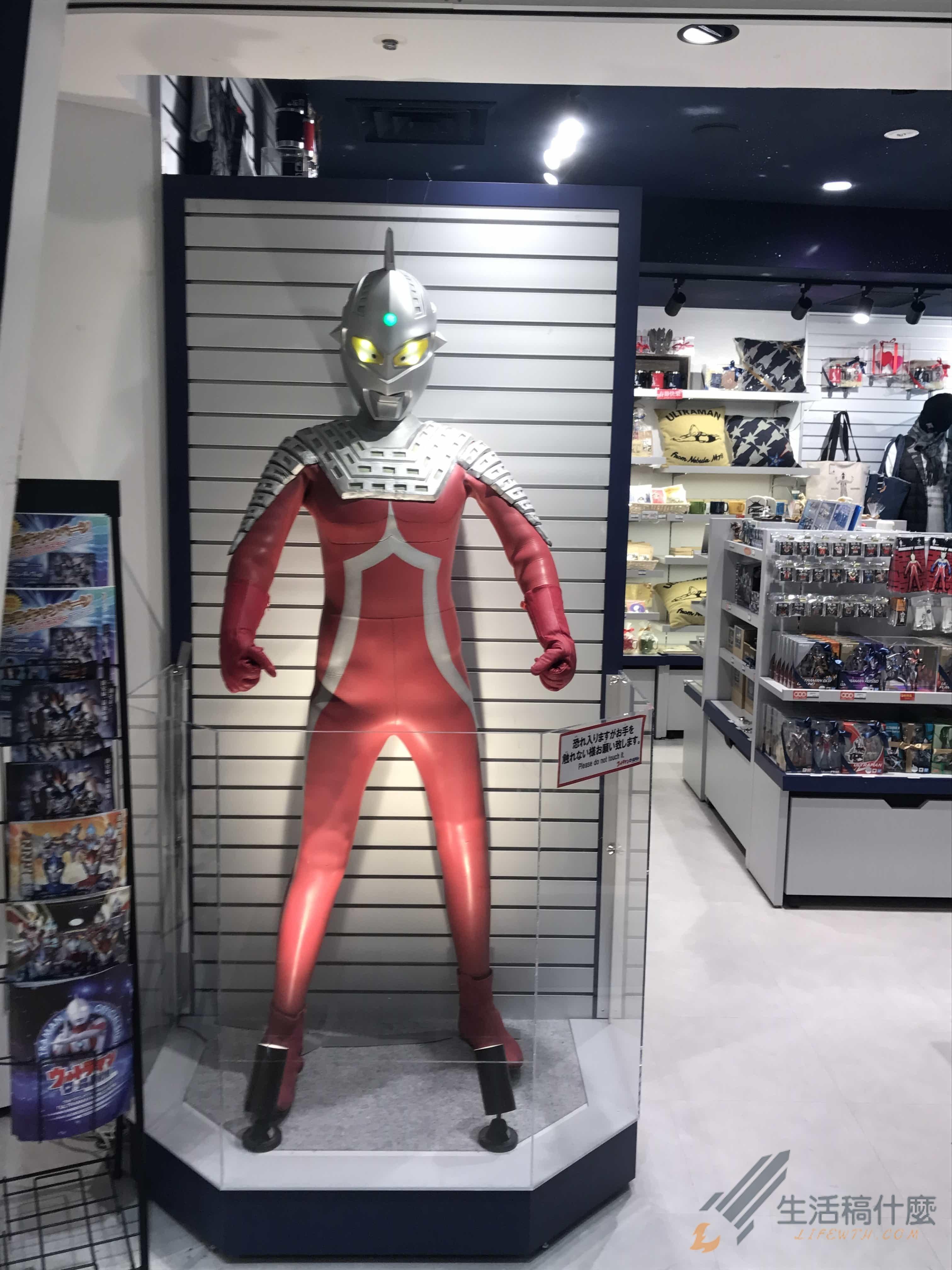 大阪梅田阪急三番街ULTRAMAN鹹蛋超人專賣店