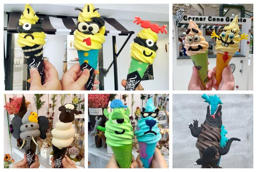 高雄駁二 CornerCone酷礦霜淇淋 | IG限時動態爆紅的創意甜點