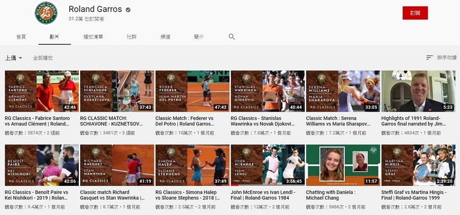 法網公開賽Highlights