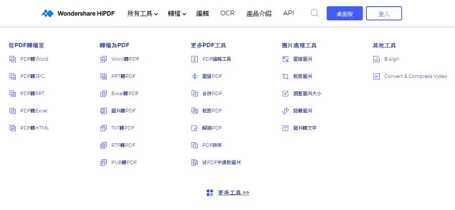 pdf轉word 軟體下載