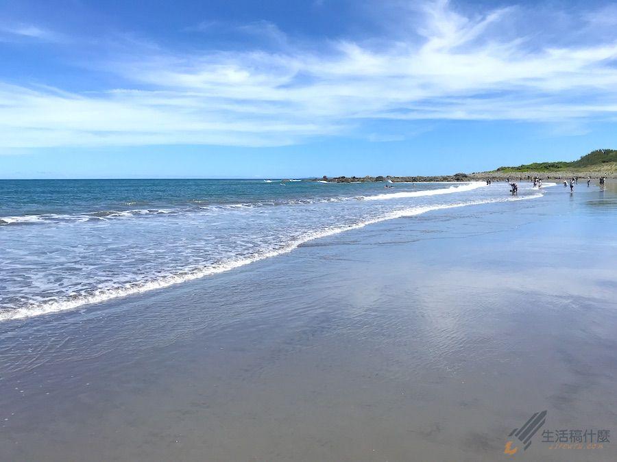 台東成功 都歷海灘 天空之鏡 秘境沙灘