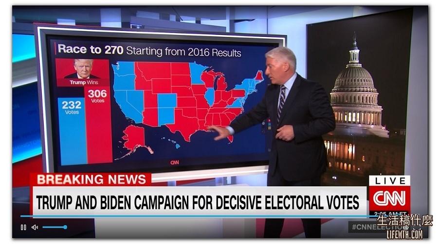 2020 美國總統大選LIVE直播、開票結果搶先看