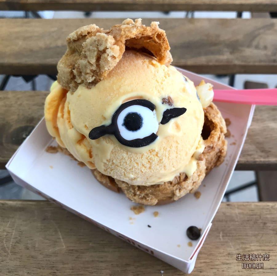 高雄冰淇淋泡芙:吞吞手作泡芙 | IG超萌人氣造型甜點