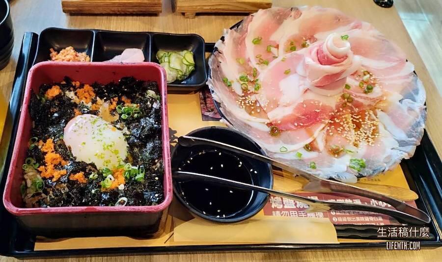 高雄前鎮|夢時代美食:大丼燒|單人日式燒肉丼飯定食