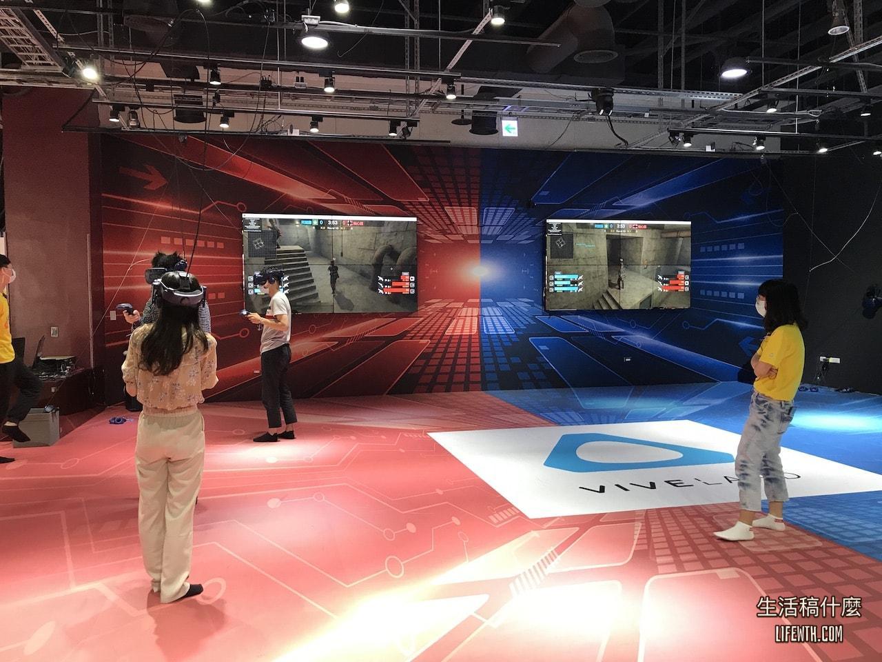 高雄大魯閣草衙道VR viveland 虛擬實境樂園/英雄防線