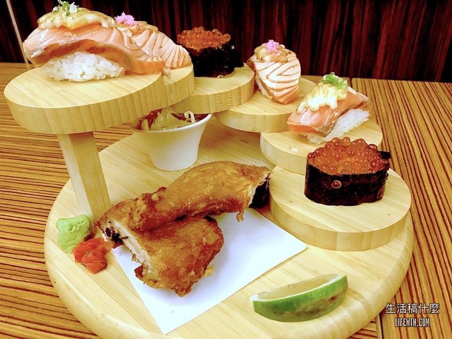 高雄三民區/平價日本料理餐廳:助壽司明誠旗艦店|握壽司、丼飯、串燒、生魚片