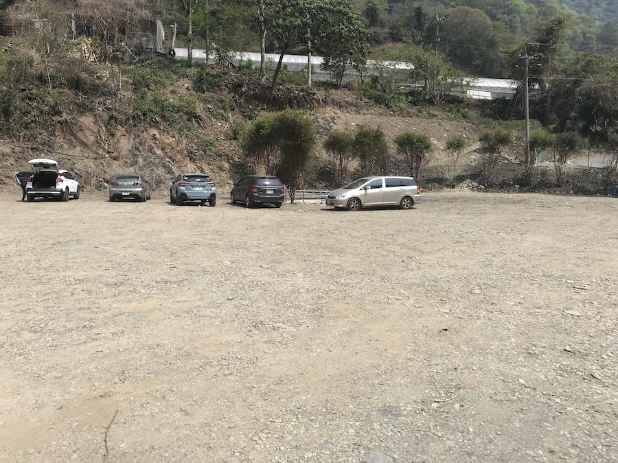 夢谷瀑布收費停車場